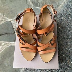 J. Crew Strappy Wedge